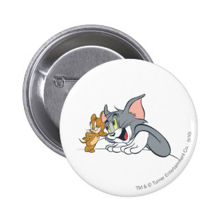 Tom and Jerry Best Buds 6 Cm Round Badge
