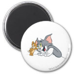 Tom and Jerry Best Buds 6 Cm Round Magnet