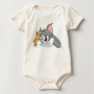 Tom and Jerry Best Buds Baby Bodysuit