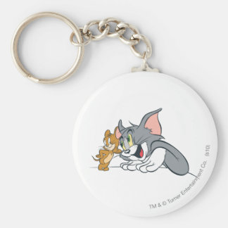 Tom and Jerry Best Buds Key Ring