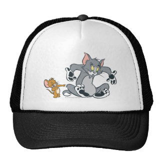 Tom and Jerry Black Paw Cat Cap