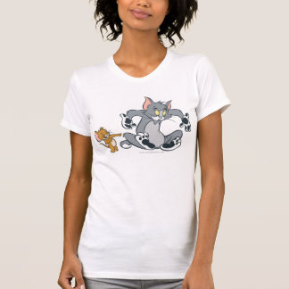 Tom and Jerry Black Paw Cat Shirts