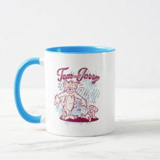Tom and Jerry Broke Mug