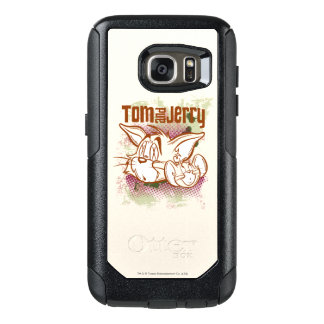 Tom and Jerry Brown and Green OtterBox Samsung Galaxy S7 Case