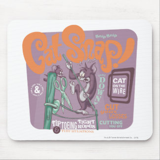 Tom and Jerry Cat Snap Mouse Mat