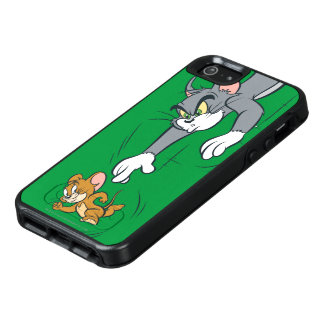 Tom and Jerry Chase OtterBox iPhone 5/5s/SE Case