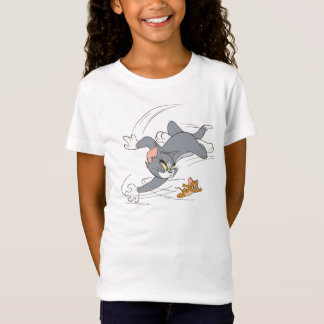 Tom and Jerry Chase Turn T-Shirt