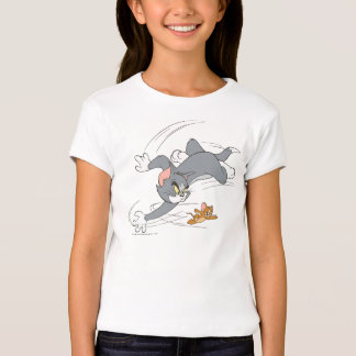Tom and Jerry Chase Turn Tshirt