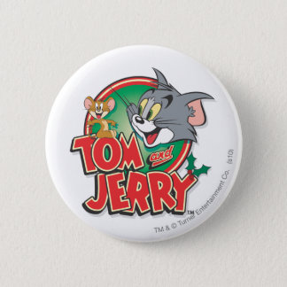 Tom and Jerry Classic Logo 6 Cm Round Badge