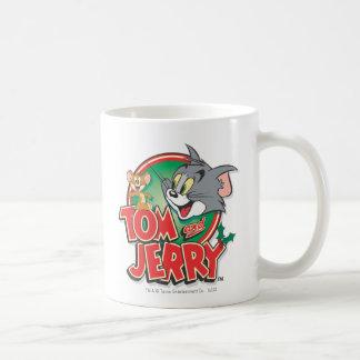 Tom and Jerry Classic Logo Basic White Mug
