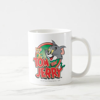 Tom and Jerry Classic Logo Classic White Coffee Mug