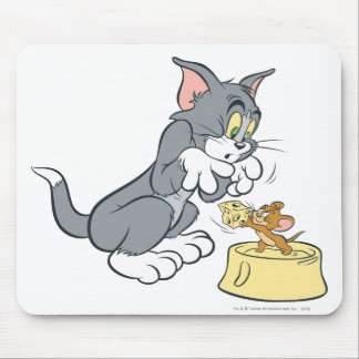 Tom and Jerry Feed The Cat Mouse Mat