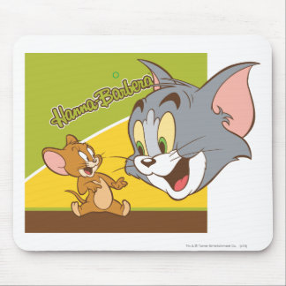 Tom and Jerry Hanna Barbera Logo Mouse Pad