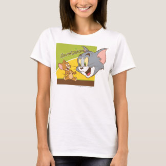 Tom and Jerry Hanna Barbera Logo T-Shirt