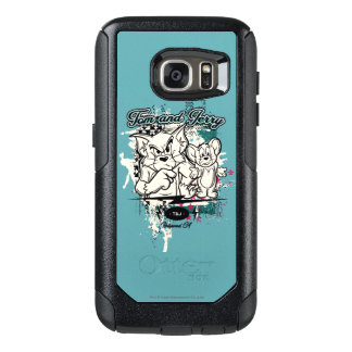 Tom and Jerry Hollywood CA OtterBox Samsung Galaxy S7 Case