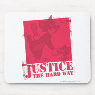 Tom and Jerry Justice The Hard Way Mouse Mat