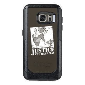 Tom And Jerry Justice the Hard Way OtterBox Samsung Galaxy S7 Case