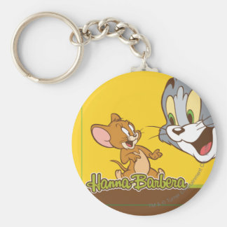 Tom And Jerry Key Ring