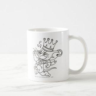 Tom and Jerry King Jerry Coffee Mug