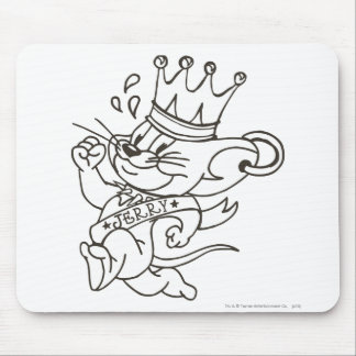 Tom and Jerry King Jerry Mouse Mat