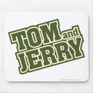 Tom and Jerry Logo 3 Mouse Pad