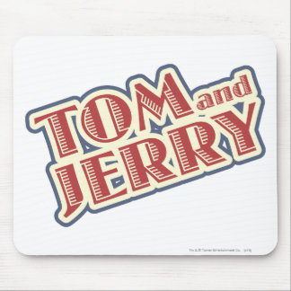 Tom and Jerry Logo Mouse Pad