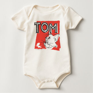 Tom and Jerry Mad Cat Baby Bodysuit