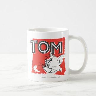 Tom and Jerry Mad Cat Basic White Mug