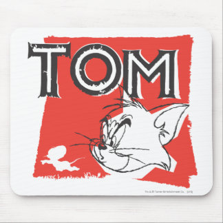 Tom and Jerry Mad Cat Mouse Pad