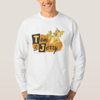 Tom and Jerry Mouse In Paw Logo T-shirts