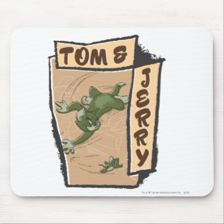 Tom and Jerry On A Tan Couch Mouse Pad