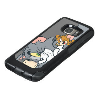 Tom and Jerry On Pillow OtterBox Samsung Galaxy S7 Case