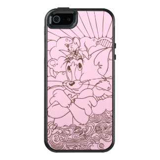 Tom and Jerry Outline OtterBox iPhone 5/5s/SE Case