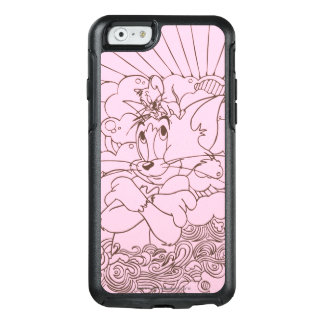Tom and Jerry Outline OtterBox iPhone 6/6s Case
