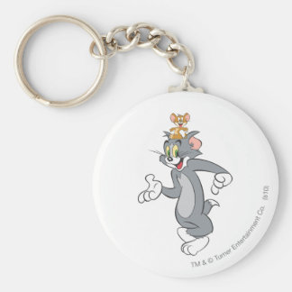 Tom and Jerry Pair Key Ring