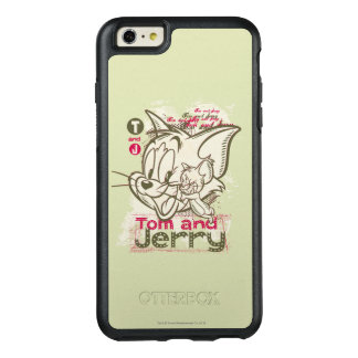 Tom and Jerry Pink and Green OtterBox iPhone 6/6s Plus Case