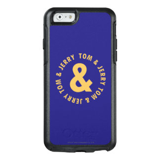Tom and Jerry Round Logo 4 OtterBox iPhone 6/6s Case