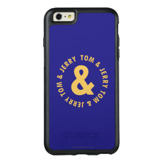 Tom and Jerry Round Logo 4 OtterBox iPhone 6/6s Plus Case