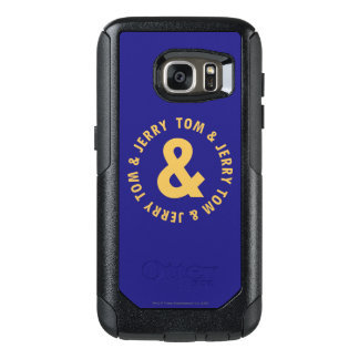 Tom and Jerry Round Logo 4 OtterBox Samsung Galaxy S7 Case