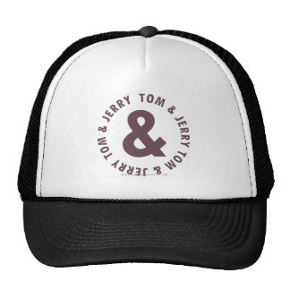 Tom and Jerry Round Logo 8 Cap