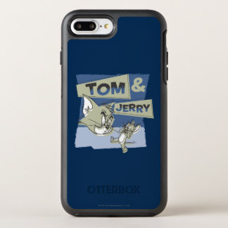 Tom and Jerry Scaredey Mouse OtterBox Symmetry iPhone 8 Plus/7 Plus Case