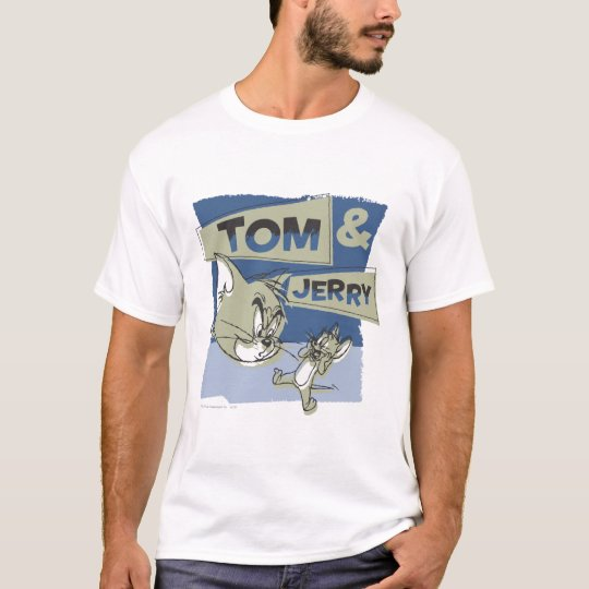 Tom and Jerry Scaredey Mouse T-Shirt