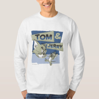 Tom and Jerry Scaredey Mouse T Shirt