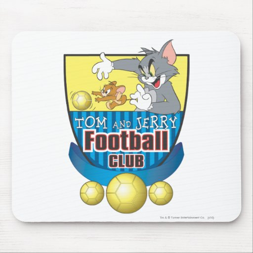 Tom and Jerry Soccer (Football) 5 Mousepads