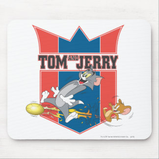 Tom and Jerry Soccer (Football) 7 Mouse Pad