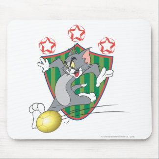 Tom and Jerry Soccer (Football) 9 Mouse Mat