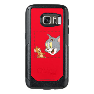 Tom and Jerry Stamp OtterBox Samsung Galaxy S7 Case