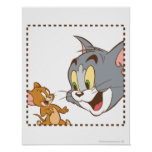 Tom and Jerry Stamp Poster