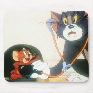 Tom And Jerry Stethescope Mouse Mat