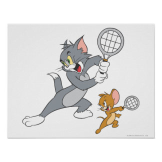 Tom and Jerry Tennis Stars 1 Poster